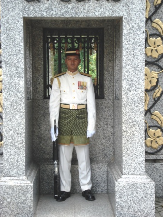 Guard - Presidential Palace